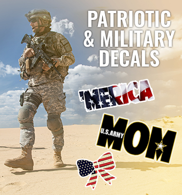 Patriotic and Military Stickers or Decals Car or Window Stickers