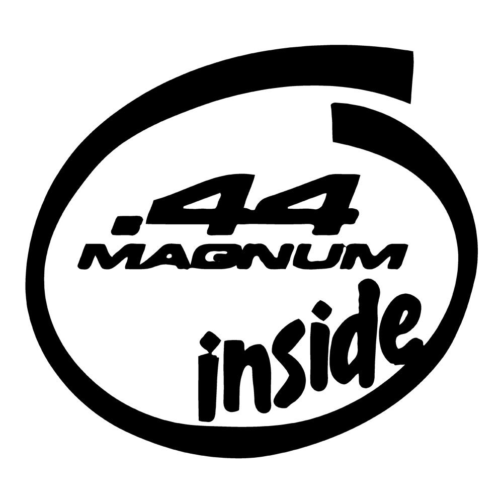 44 Magnum Inside Truck Stickers