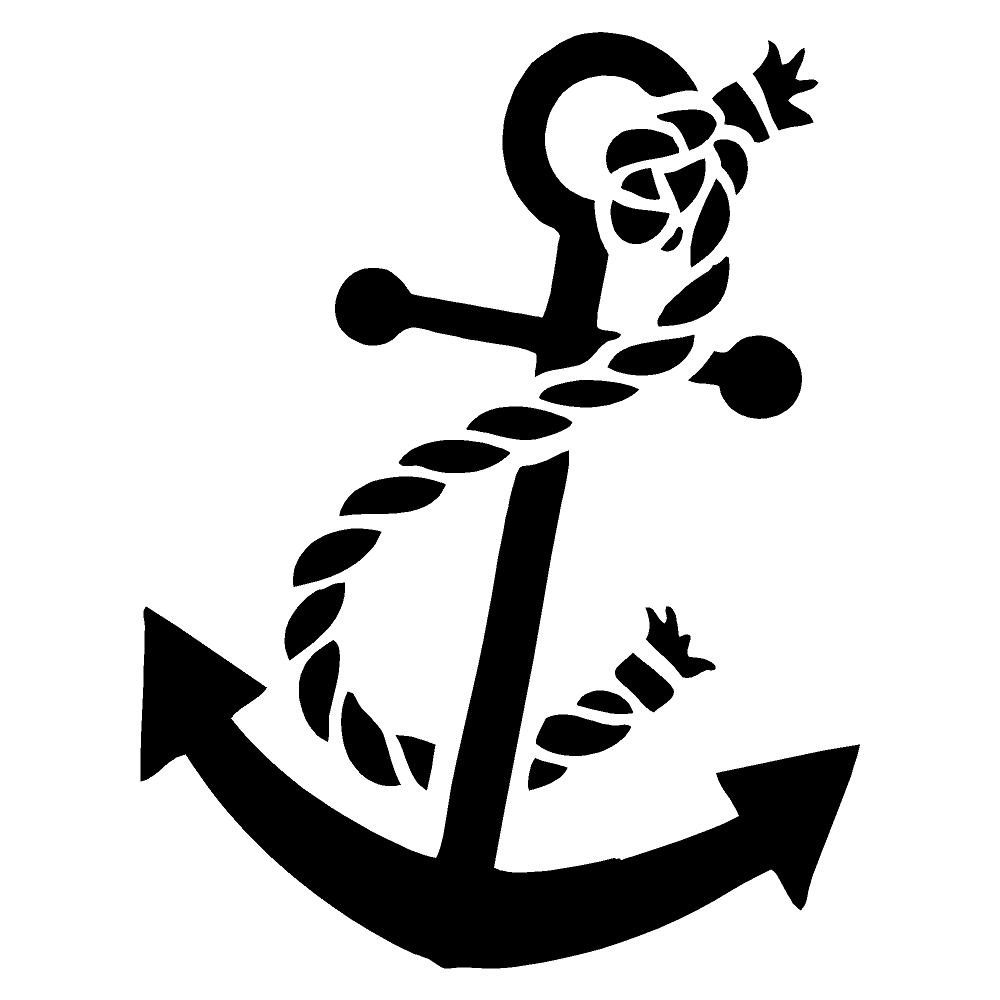 Anchor Die Cut Stickers