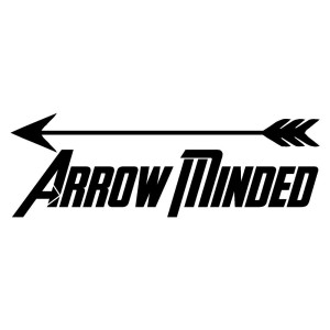 Arrow Minded Sticker Bow Hunting Sticker