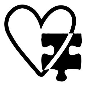 Autism Heart Stickers