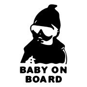 Carlos from the Hangover Baby on Board Stickers Car Decals