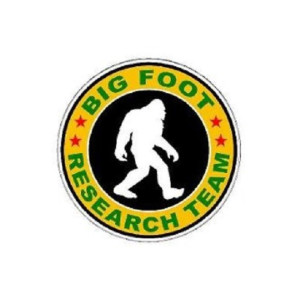 Big Foot Research Team Funny Stickers Car Decals