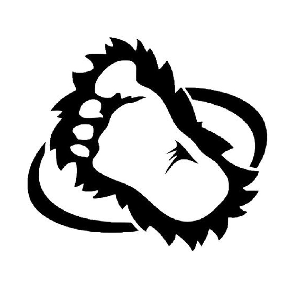 Bigfoots Foot Funny Stickers Car Decals Wall Decals