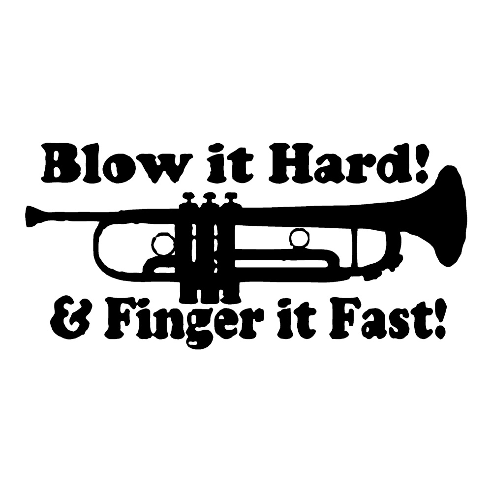 Blow It Hard Funny Stickers