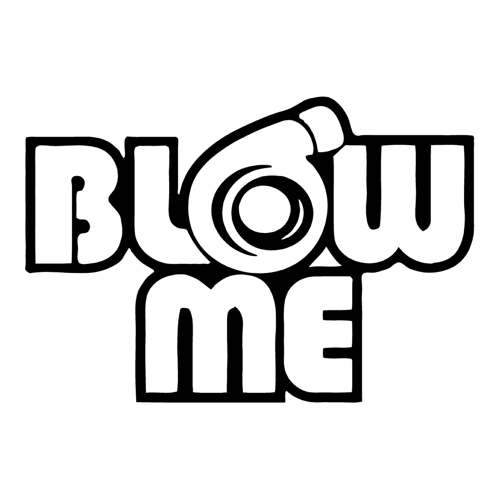 Blow Turbo Car Decals Funny Stickers