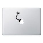 Bomb Mac Laptop Stickers