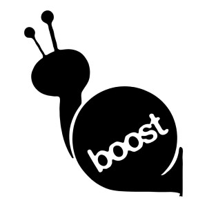Boost Snail Racing Car Stickers
