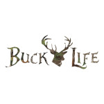 Camo Buck Life Sticker