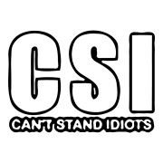 Can't Stand Idiots Funny Stickers