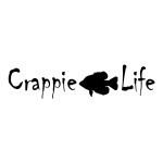 Crappie Life Die Cut Stickers