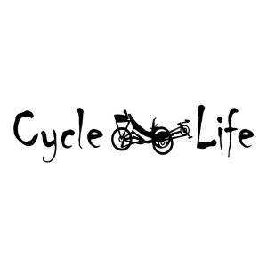 Cycle Life Die Cut Stickers
