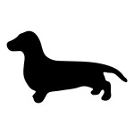 Dachsund Sticker Dog Stickers Car Decal Wall Decal
