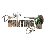 Daddy's Hunting Girl Camo Waterproof Stickers