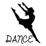 Dance Sticker Dancing Decals Wall Decal Car Stickers