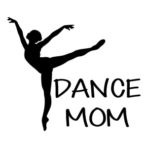 Dance Mom Waterproof Stickers