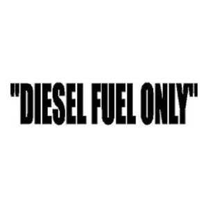Diesel Fuel Black Diesel Truck Stickers Car Decals