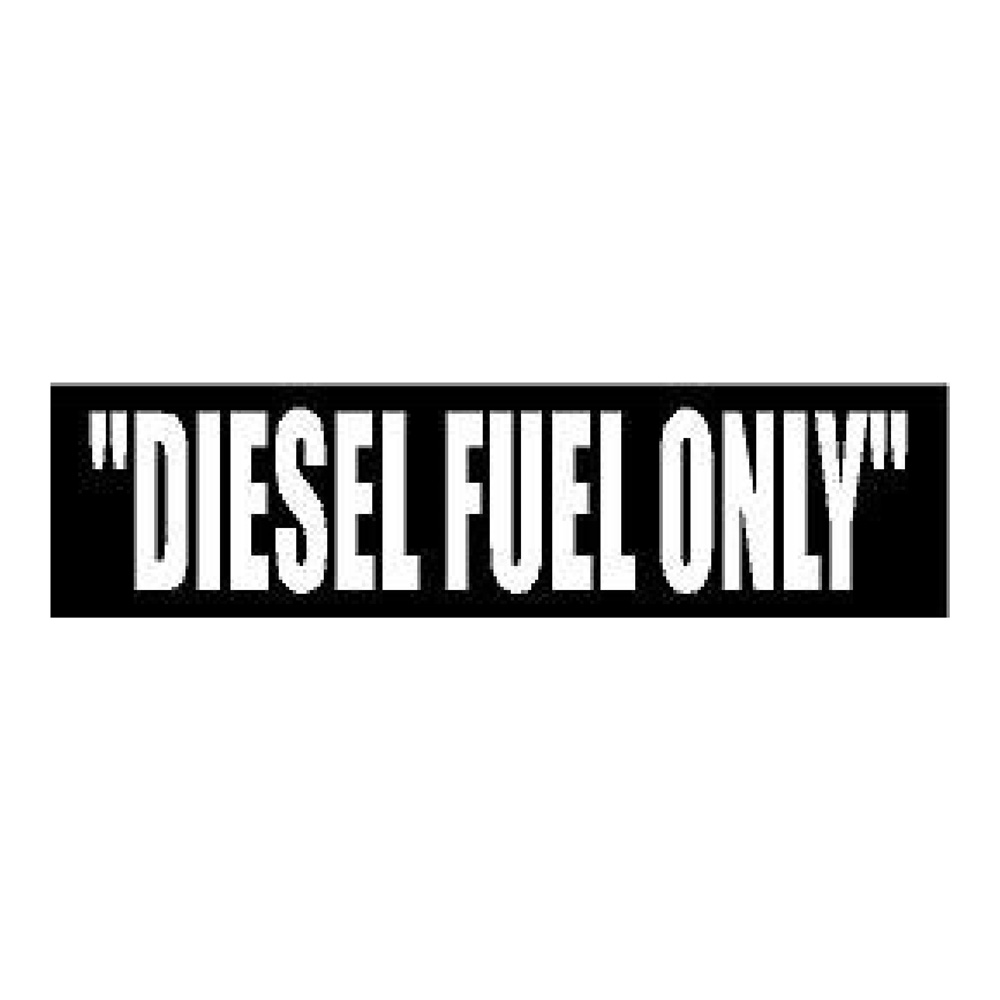 Diesel Fuel White Diesel Truck Stickers Car Decals