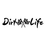 Dirt Life Die Cut Stickers