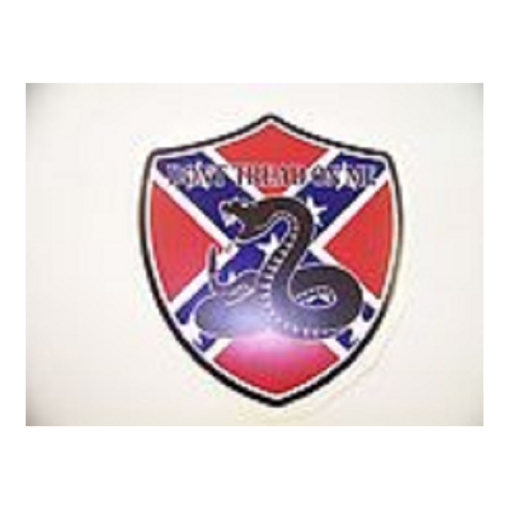 Don't Tread On Me Rebel Flag Waterproof Stickers