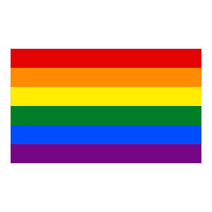 Gay Pride Sticker Car Decal