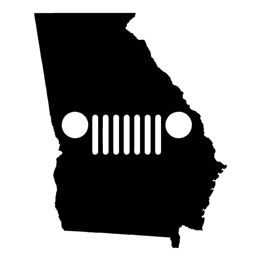 Georgia Jeep Jeep Stickers Car Decals Wall Decals