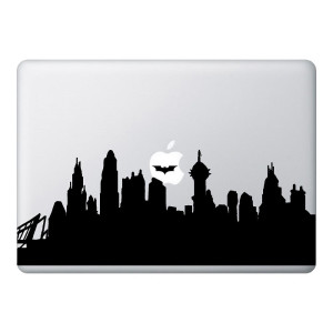 Gotham Mac Laptop Stickers