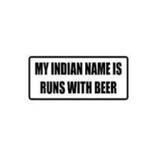 My Indian Name Funny Stickers