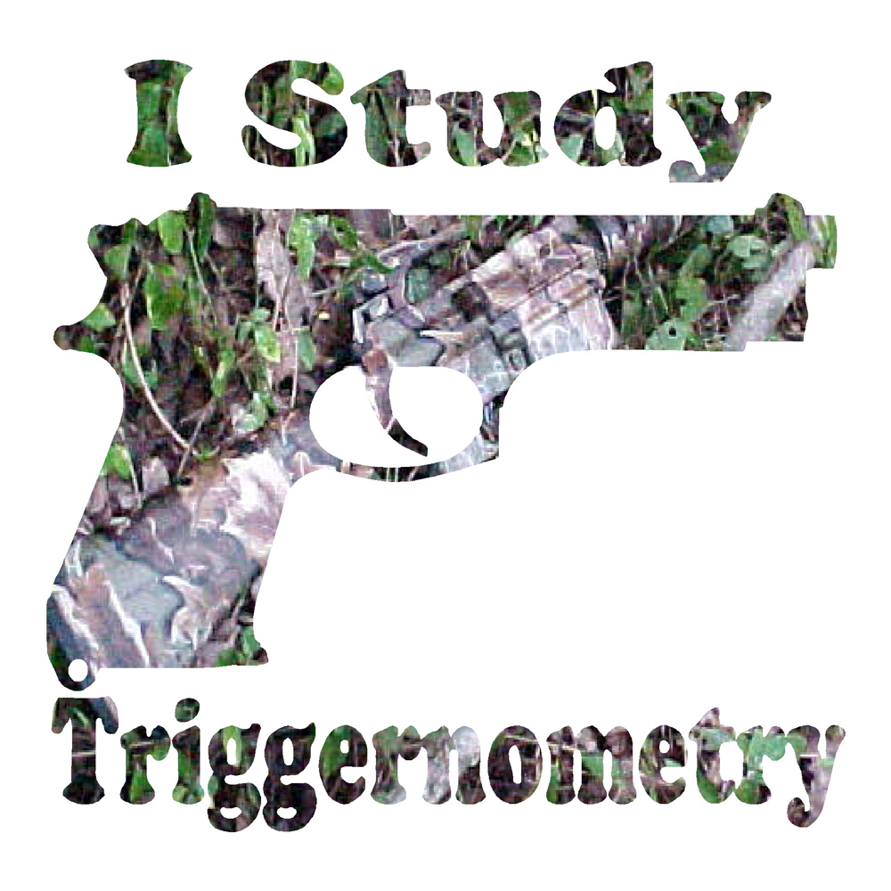 I Study Triggernometry Funny Stickers