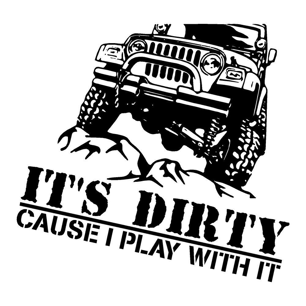 It's Dirty Play With It Stickers Funny Stickers Car Decals