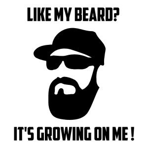 Like My Beard Funny Stickers