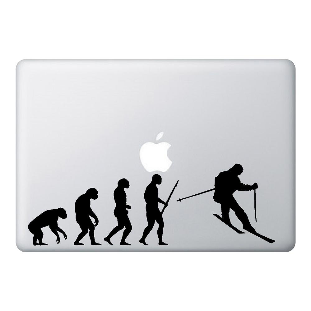 Ski Mac Laptop Stickers