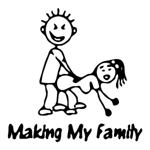 Making My Own Stick Family Funny Stickers