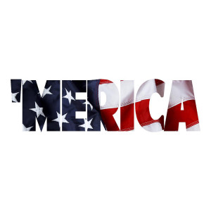 Merica USA Funny Stickers
