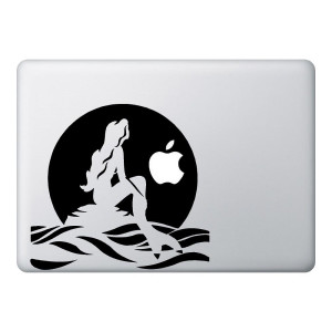 Mermaid Mac Laptop Stickers