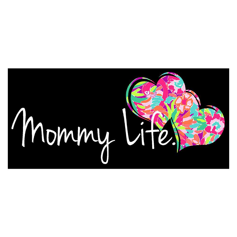 Mommy Life Die Cut Stickers