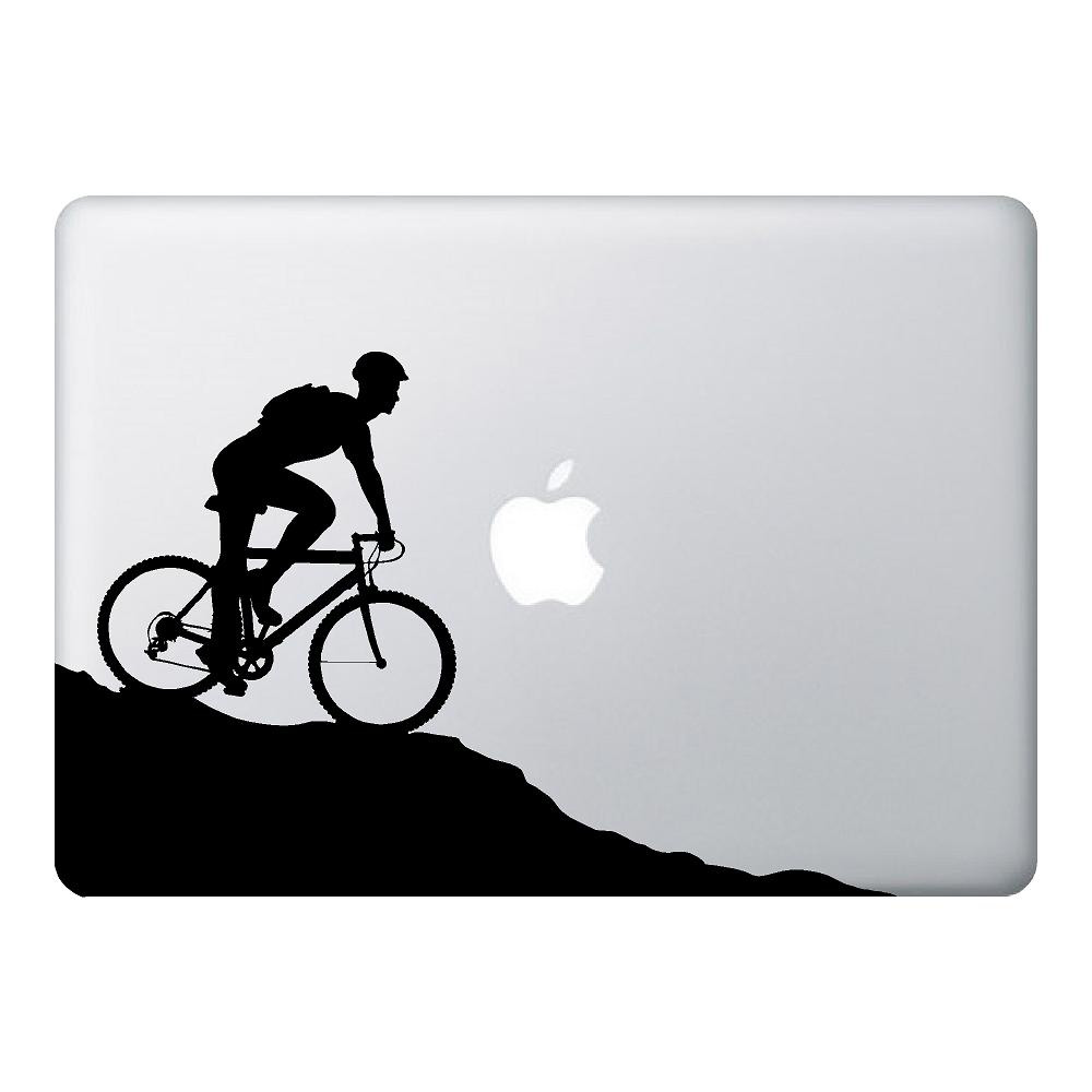 Mountain bike mac laptop stickers