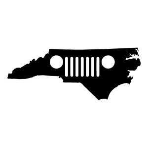 North Carolina Jeep Jeep Stickers Car Decals Wall Decals