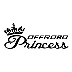 Off Road Princess Sticker ATV Decals Off Roading