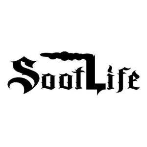 Old English Soot Life Diesel Truck Stickers