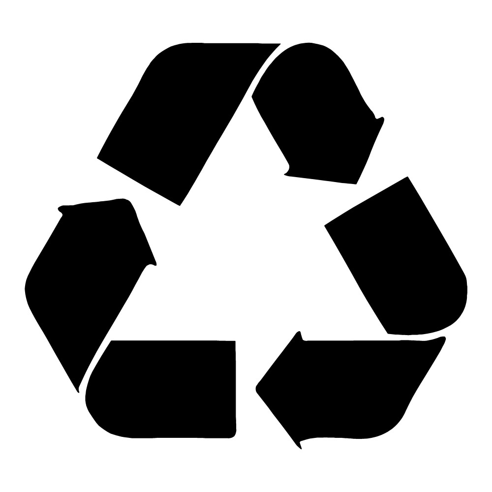Recycle Sticker Recycle Wall Decal Waterproof Sticker
