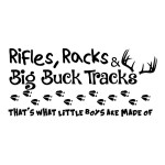 Rifles Racks Hunting Sticker