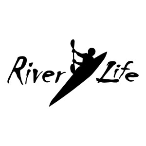Riverlife River Life Die Cut Stickers