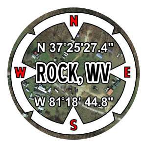 Rock West Virginia Stickers Car Decals Waterproof Decals