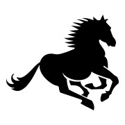Running Horse Stickers Animal Stickers Car Decals