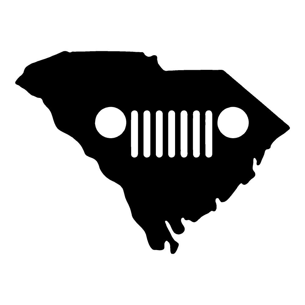 South Carolina Jeep Jeep Stickers Car Decals Wall Decals