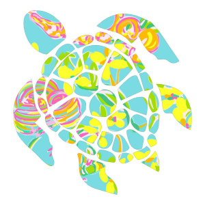 Colorful Sea Turtle Animals Stickers Car Decals Turtles