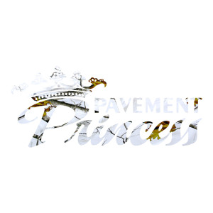 Snow Camo Pavement Princess Outdoor Stickers