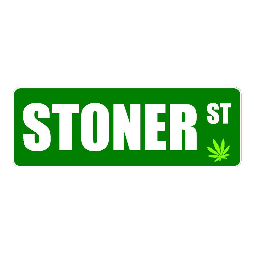 Stoner Street Funny Stickers