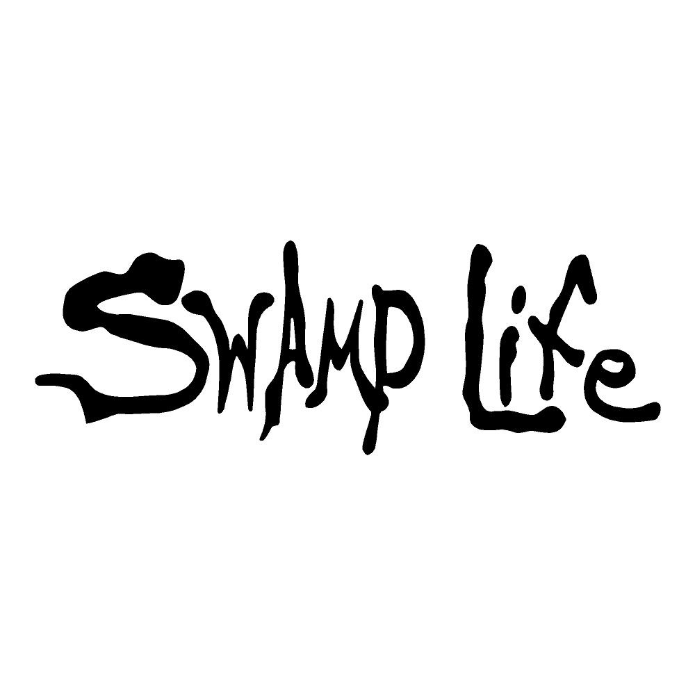 Swamp Life Outdoors Stickers Nature Car Decals
